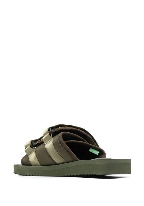 Suicoke double strap sandals man green SUICOKE | Sandals | OG-056CAB115