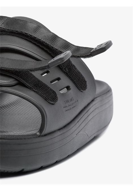 Suicoke urich sandals man black SUICOKE | Sandals | OG-INJ-01001