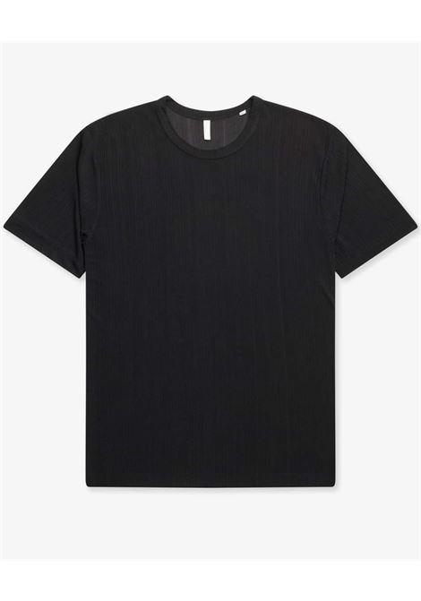 Plated t-shirt man black  SUNFLOWER | T-shirts | 2014999