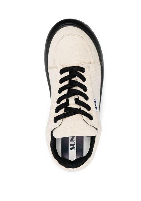 Sunnei sneakers con suola in contrasto SUNNEI | Sneakers | D03BEIGE