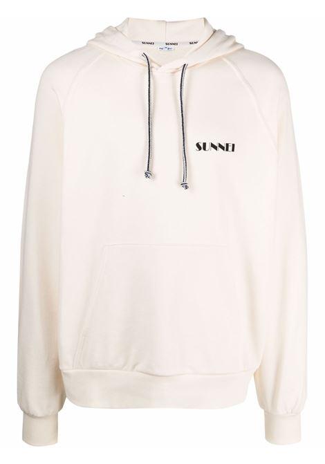 Sunnei logo sweatshirt man beige SUNNEI | Sweatshirts | SN1SMF01AP - JE076.064CREM