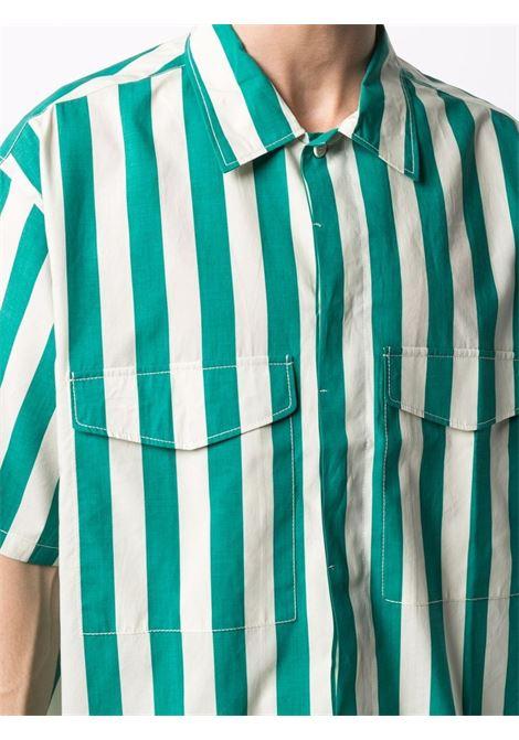 Sunnei striped shirt man white SUNNEI | Shirts | SN1SXS09AP - TR079.R23OWHITESTRIPE