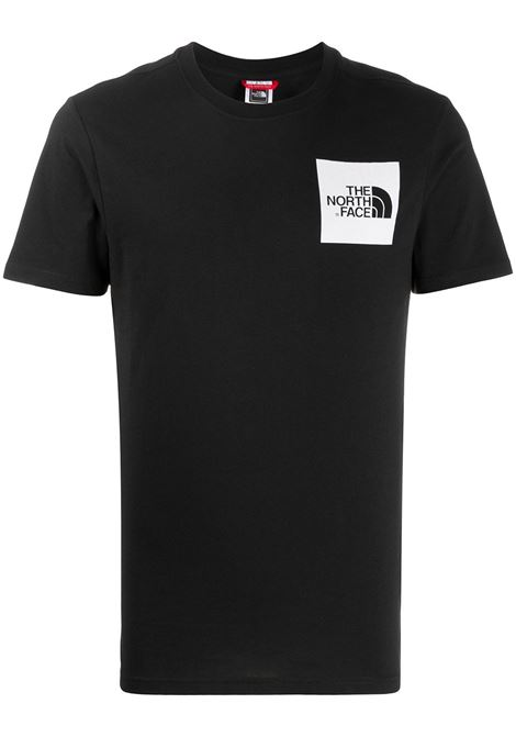 The North Face t-shirt con stampa logo uomo nero THE NORTH FACE | T-shirt | NF00CEQ5JK31
