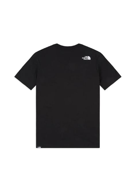 The North Face logo print t-shirt man black THE NORTH FACE | T-shirts | NF00CEQ5JK31