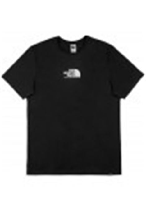 The North Face logo print t-shirt man black THE NORTH FACE | T-shirts | NF0A4SZUJK31