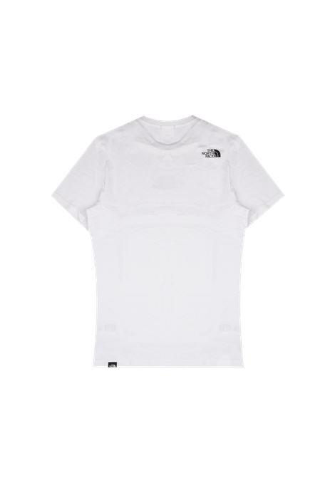 The North Face t-shirt con logo stampata uomo bianco THE NORTH FACE | T-shirt | NF0A4SZULA91