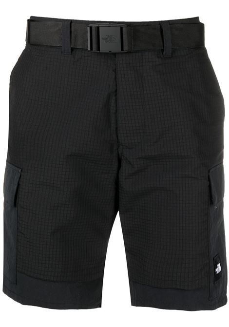 The North Face embroidered logo shorts man black THE NORTH FACE | Shorts | NF0A4T22JK31