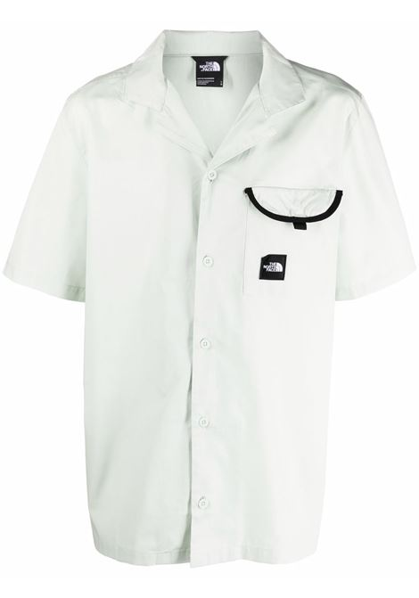 Black box shirt White in Cotton Man THE NORTH FACE | Shirts | NF0A4T23V391