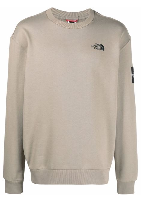The North Face logo sweatshirt man grey THE NORTH FACE | Sweatshirts | NF0A557GVQ81