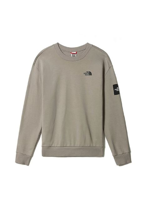 logo sweatshirt man gray in cotton THE NORTH FACE | Sweatshirts | NF0A557GVQ81