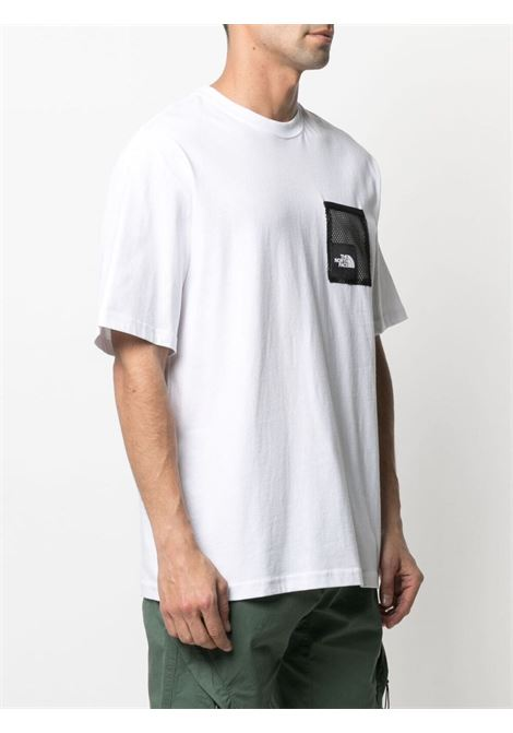 The North Face patch logo t-shirt man white THE NORTH FACE | T-shirts | NF0A557KFN41