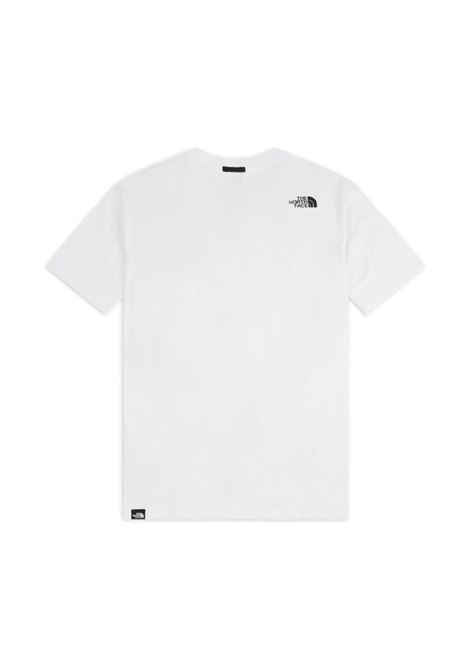 The North Face t-shirt con patch logo man white THE NORTH FACE | T-shirt | NF0A557KFN41