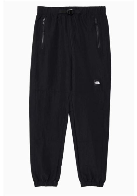 The North Face logo patch slim fit trousers man black THE NORTH FACE | Trousers | NF0A55BGJK31
