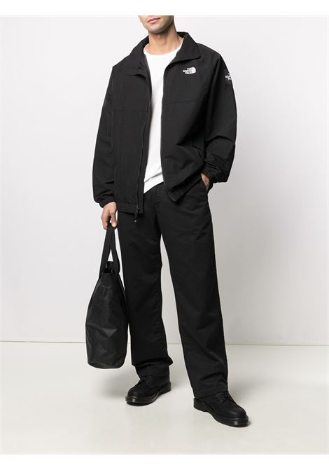 giacca con logo uomo nera in poliestere THE NORTH FACE | Felpe | NF0A55BTJK31