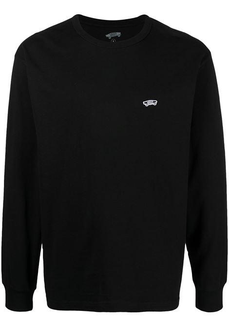 Long sleeves t-shirt black man in cotton VANS VAULT | T-shirts | VN0A5E1LBLK1