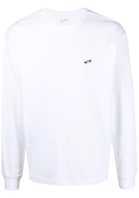 Long sleeves t-shirt white man in cotton VANS VAULT | T-shirts | VN0A5E1LWHT1