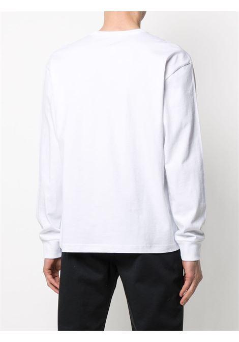 T-shirt maniche lunghe bianca uomo in cotone VANS VAULT | T-shirt | VN0A5E1LWHT1