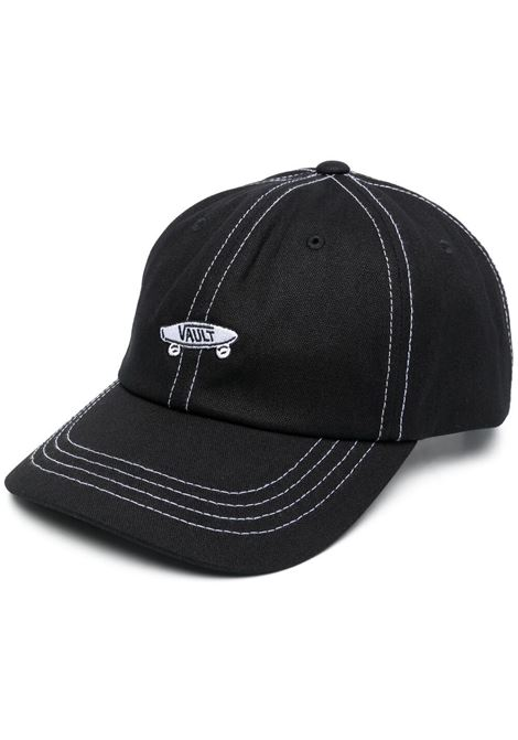 cappello con logo unisex nero in cotone VANS VAULT | Cappelli | VN0A5E1SBLK1