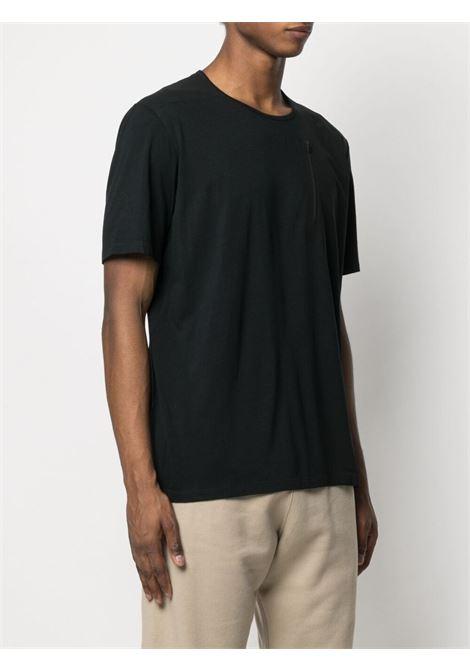 Veilance zip detailed t-shirt man black VEILANCE | T-shirts | 26958BLK