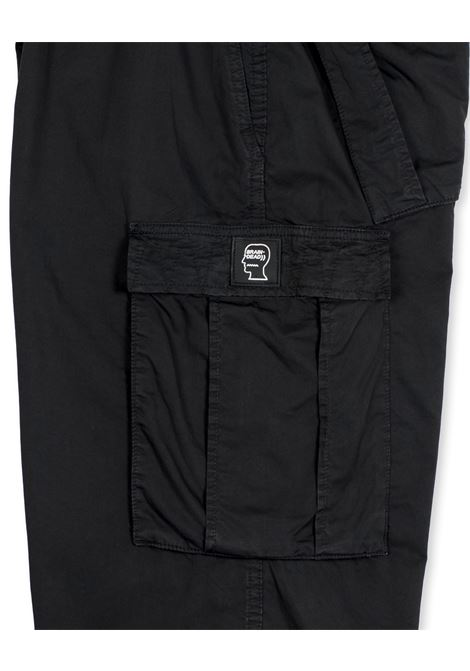 Brain Dead cargo pant man black BRAIN DEAD | Trousers | BDP21B07001366BLACK