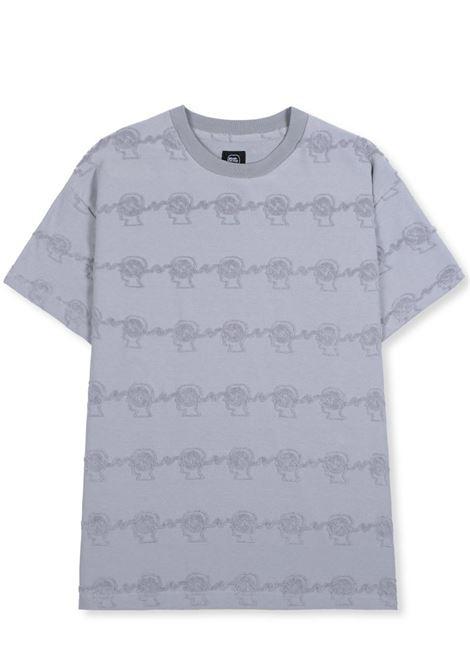 Brain dead bd running head t-shirt BRAIN DEAD | T-shirts | P21T00001802WASHED BLU GREY