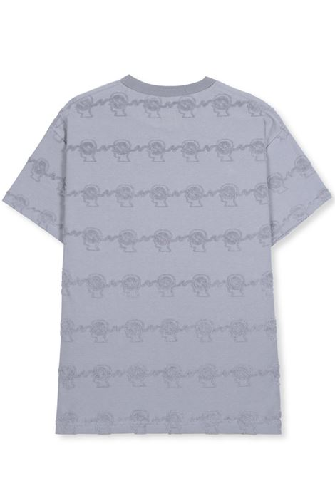 Brain dead t-shirt bd running head uomo BRAIN DEAD | T-shirt | P21T00001802WASHED BLU GREY