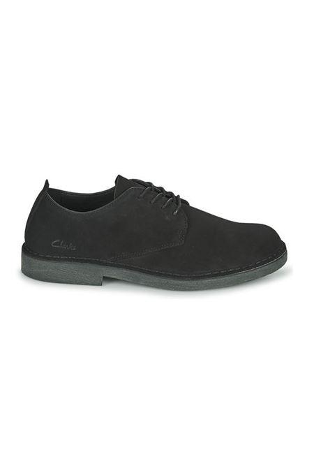Clarks Originals lace up suede shoes man CLARKS | Laced Shoes | 156808BLACK SUEDE