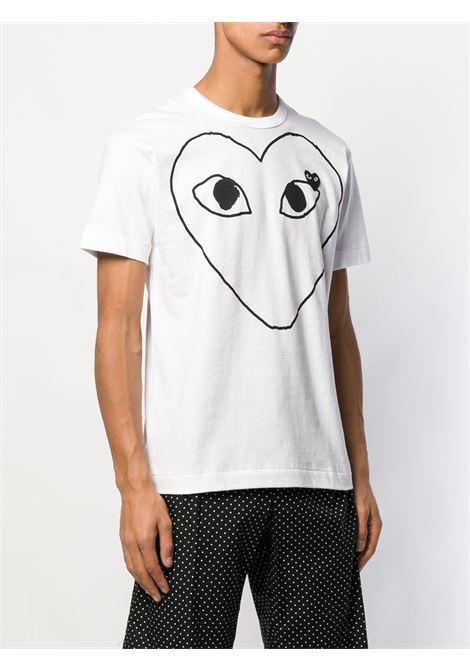 PLAY T-SHIRT COMME DES GARÇONS PLAY | T-shirts | P1T1021