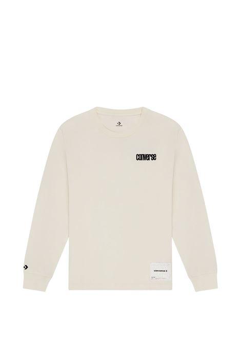 Converse printed logo t-shirt man white CONVERSE X SLAM JAM | T-shirts | 10022285-A01EGR