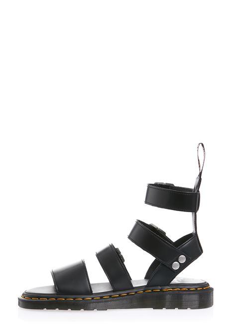 Grayphon sandals man black leather DR. MARTENS X RICK OWENS | Sandals | DM21S6806 100109