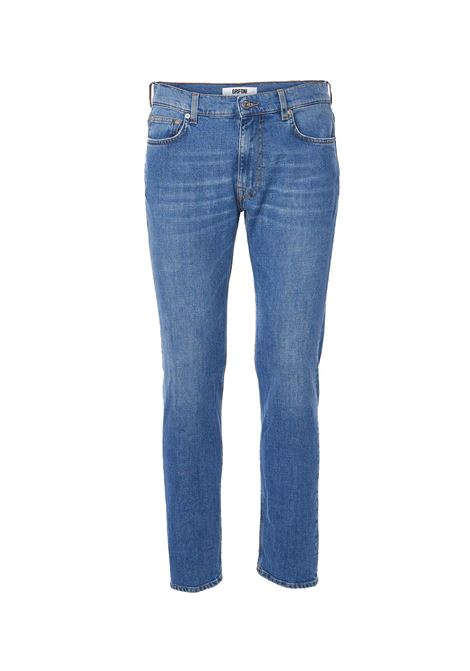 Grifoni skinny denim man blue GRIFONI | Trousers | GI142002M27