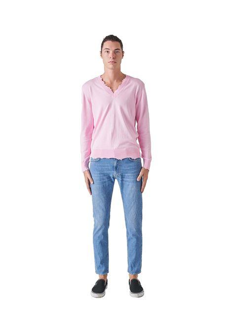 Jeans Skinny Uomo Blu Cotone GRIFONI | Pantaloni | GI142002M27
