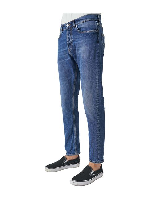 Grifoni denim slim man blue GRIFONI | Trousers | GI142003M14