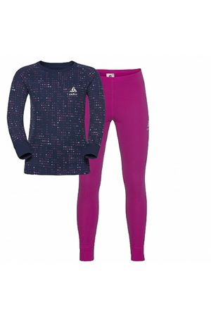 ODLO WARM KIDS COMPLETO BASELAYER MAGLIA + LEGGINGS ODLO | 58 | 15040930357