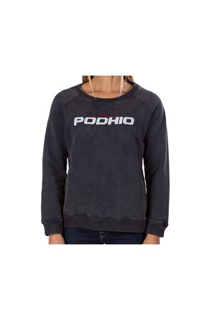 PODHIO FELPA DONNA AUTHENTIC 360 SNOW WASHED GIROCOLLO PODHIO | -108764232 | PD032D22