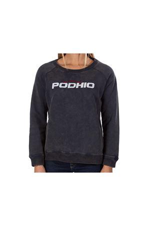 PODHIO FELPA DONNA AUTHENTIC 360 SNOW WASHED GIROCOLLO PODHIO | -108764232 | PD032D22