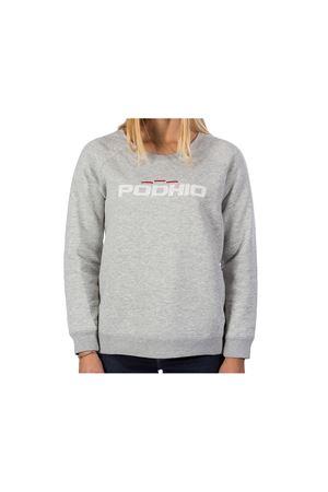 PODHIO FELPA DONNA AUTHENTIC 360 SNOW WASHED GIROCOLLO PODHIO | -108764232 | PD032D28
