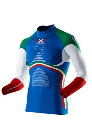 X-BIONIC ENERGY ACCUMULATOR® EVO PATRIOT EDITION ITALY SHIRT X-BIONIC | 5032303 | I100578T068