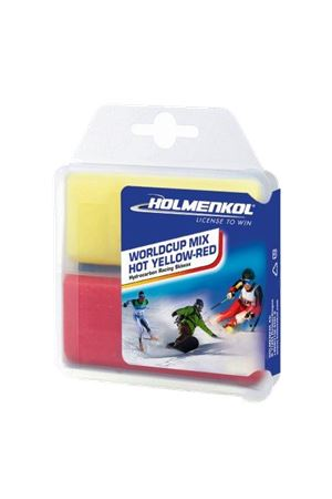 HOLMENKOL WORLD CUP MIX HOT YELLOW-RED  2x35g Holmenkol | 5032306 | 24128COLD