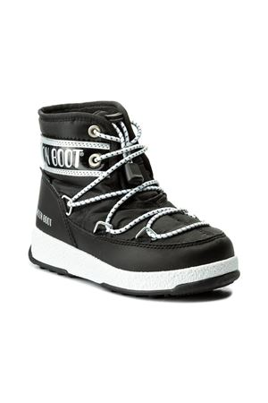 MOON BOOT W.E. JR BOY MID WP (30-35) MOON BOOT | 5032309 | 34051200001