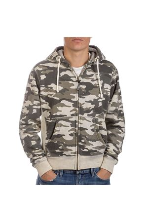 PODHIO FELPA AUTHENTIC 360 UOMO SNOW WASHED ZIP E CAPP. PODHIO | -108764232 | PD005D300