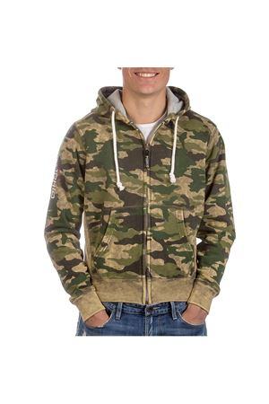 PODHIO FELPA AUTHENTIC 360 UOMO SNOW WASHED ZIP E CAPP. PODHIO | -108764232 | PD005D844