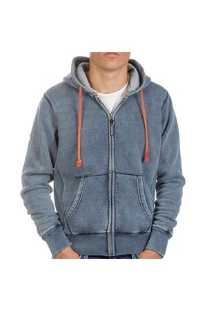 PODHIO FELPA AUTHENTIC 360 UOMO SNOW WASHED ZIP E CAPP. PODHIO | -108764232 | PD005DJ22J
