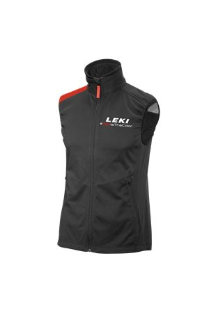 LEKI SOFTSHELL LIGHT VEST RED LEKI | 38 | 357006