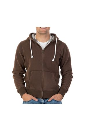 PODHIO FELPA AUTHENTIC 360 UOMO SNOW WASHED ZIP E CAPP. PODHIO | -108764232 | PD005D801