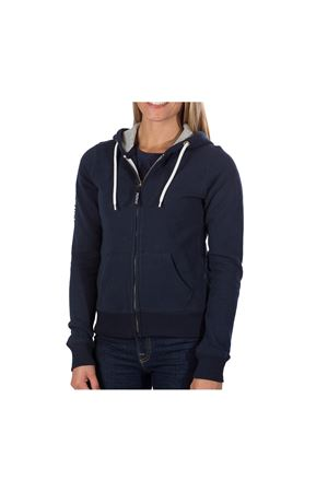 PODHIO FELPA AUTHENTIC 360 DONNA CON ZIP E CAPPUCCIO PODHIO | -108764232 | PD00622