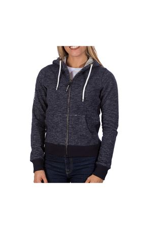 PODHIO FELPA AUTHENTIC 360 DONNA CON ZIP E CAPPUCCIO PODHIO | -108764232 | PD006220