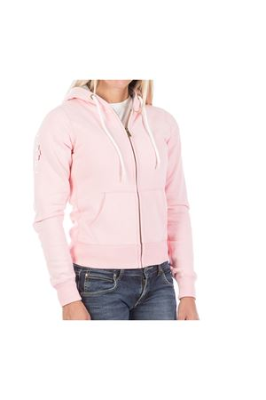 PODHIO FELPA AUTHENTIC 360 DONNA CON ZIP E CAPPUCCIO PODHIO | -108764232 | PD00635