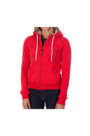 PODHIO FELPA AUTHENTIC 360 DONNA CON ZIP E CAPPUCCIO PODHIO | -108764232 | PD00638