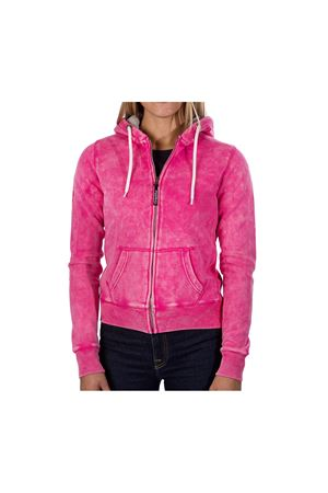 PODHIO FELPA AUTHENTIC 360 DONNA SNOW WASHED CON ZIP E CAPPUCCIO PODHIO | -108764232 | PD006D810